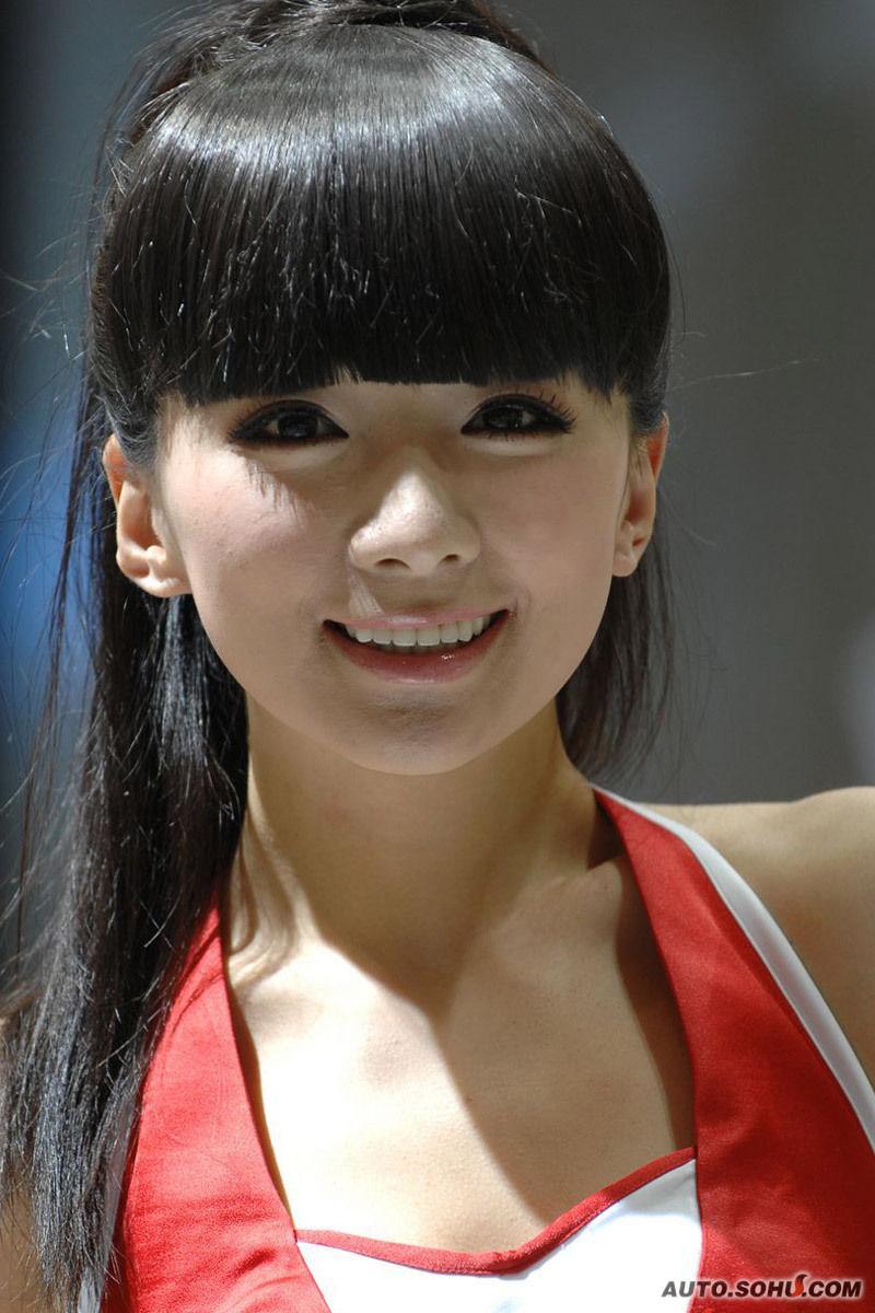模特图片_2010车展最美的女模集合