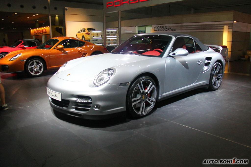 保时捷911 turbo车展实拍