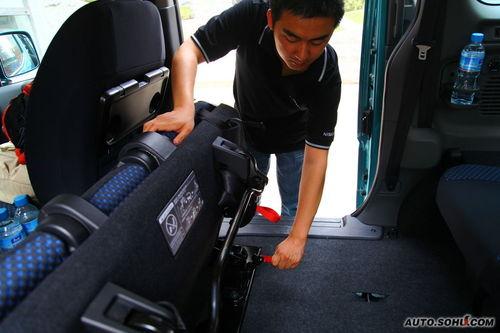 日产 NV200 实拍 评测 图片