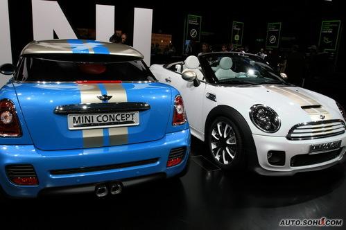 迷你 MINI Coupe 实拍 外观 图片
