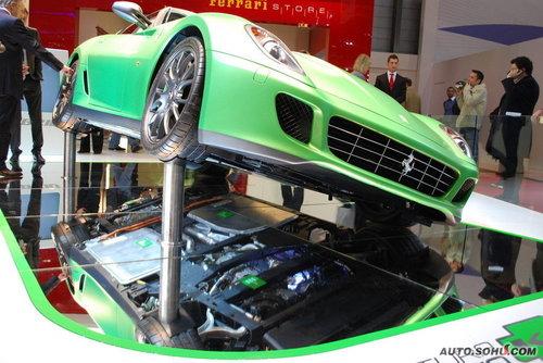 法拉利 599-GTB 实拍 外观 图片