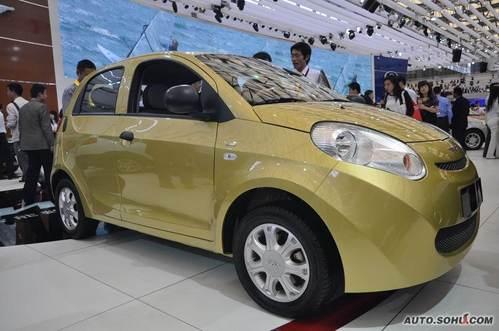 瑞麒 M1 实拍 外观 微型车 5万元 图片