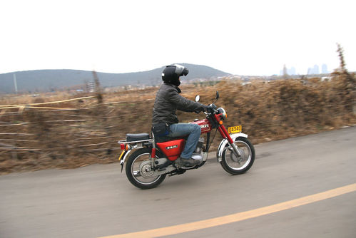幸福的故事,真正经典的XF250D摩托车