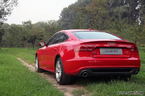 奥迪 A5 Sportback 实拍 外观 图片