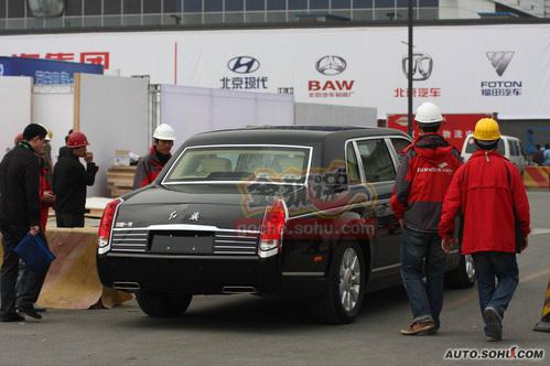 红旗 红旗检阅车 实拍 外观 图片