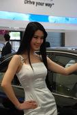 2009上海车展现代车模