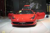 法拉利458 Italia车展实拍