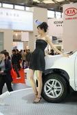 2009上海车展华泰车模