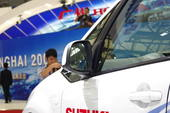 铃木天语SX4 FCV 09上海车展实拍