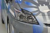 丰田普锐斯车展实拍