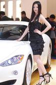 2009上海车展玛莎拉蒂模特