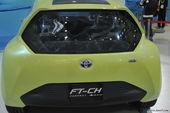 丰田FT-CH混合动力概念…