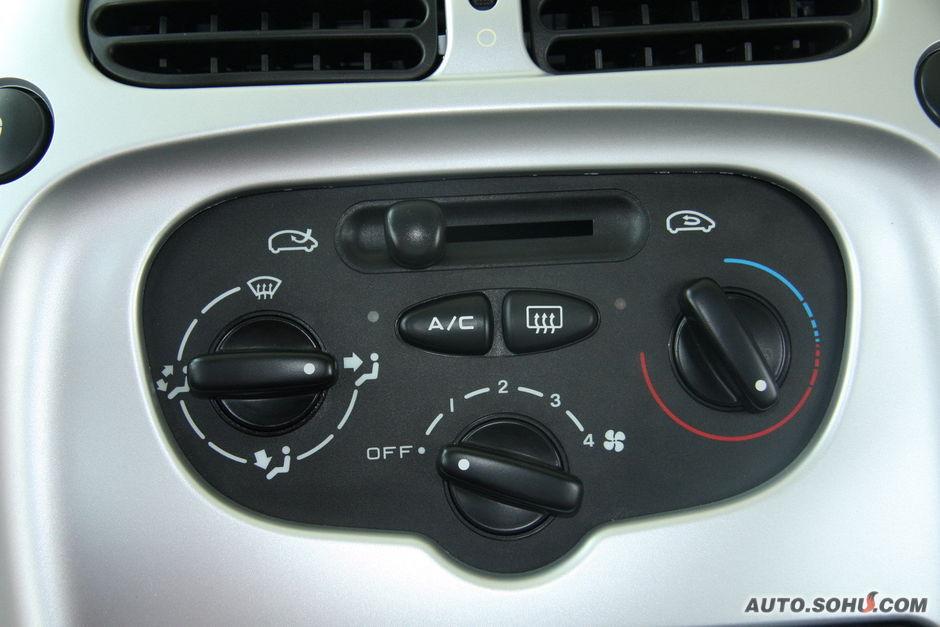 雪铁龙 神龙汽车 萨拉毕加索 空调控制面板
