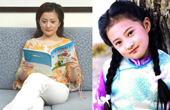 80后童星金铭,最年轻的琼瑶女郎,永远的小婉君……赢得大批观众