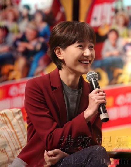 携焦俊艳等主创演员亲临浙江传媒大学与同学们见面.当天,焦俊艳