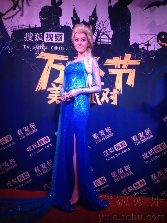 今年的10月31日,搜狐视频万圣节美剧派对盛装回归!明星变装也