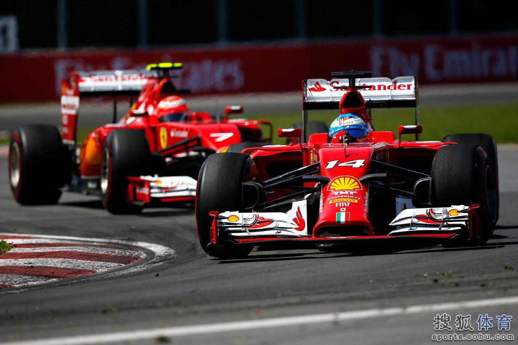 6月9日凌晨,2014赛季F1大奖赛第七站加拿大站正赛在蒙特利尔赛