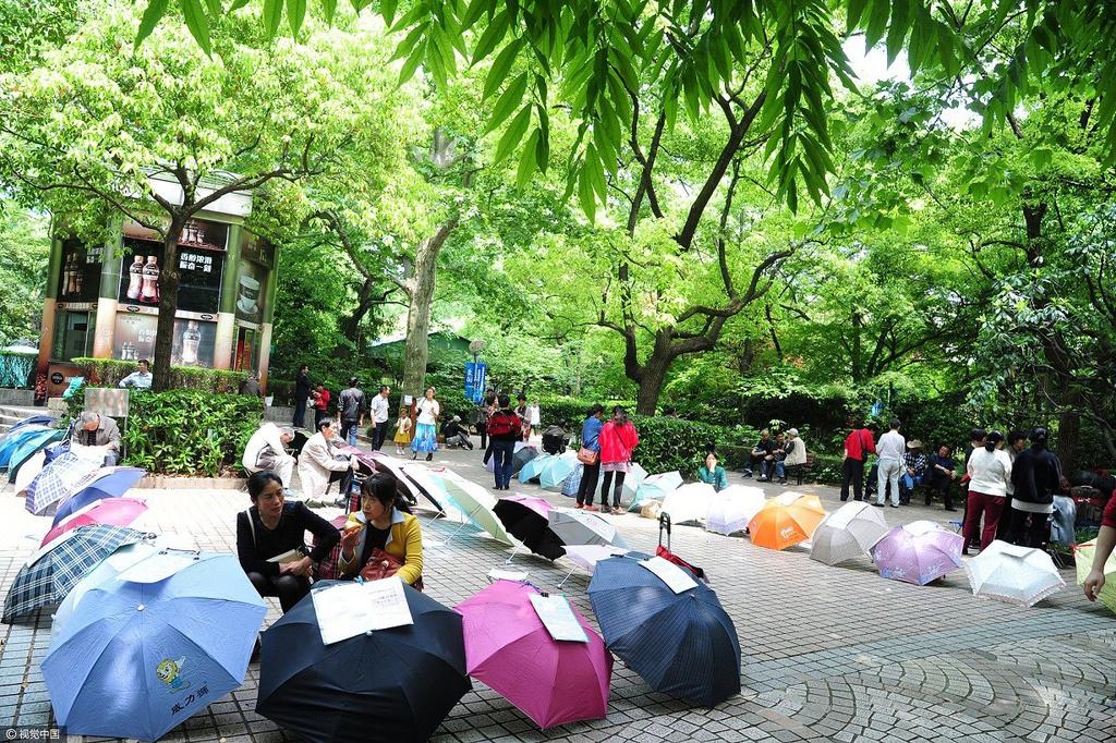 上海人民公园相亲角 家长交流堪比谍战图片 645473 1024x682