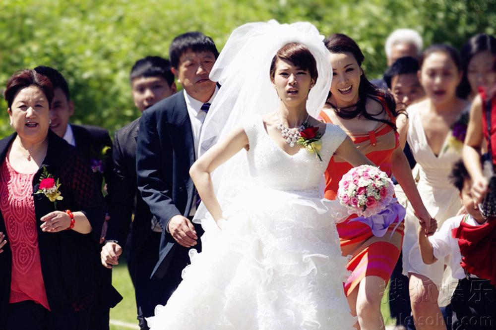 张一山六一前结婚不顺 乌龙现场明星集体暴走
