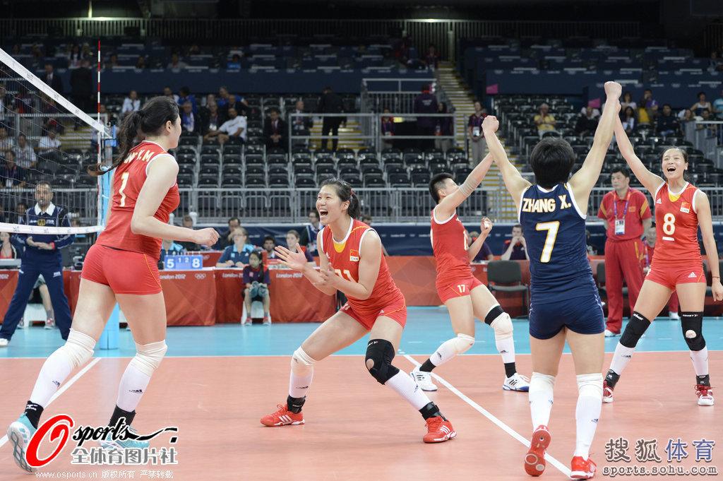 高清 中国女排击败塞尔维亚 迎来奥运会开门红