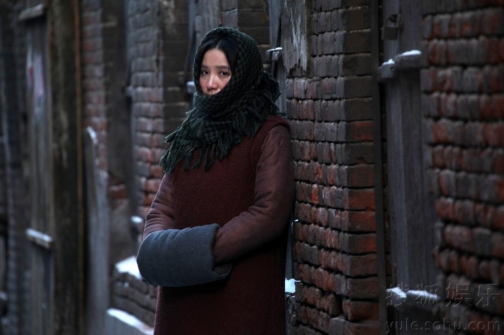 影片中饰演民国四大才女之一的女作家萧红,一位冰城的传奇女性人图片