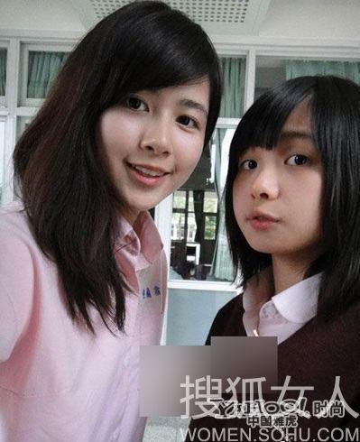 台湾最美校花私照 素颜完胜明星