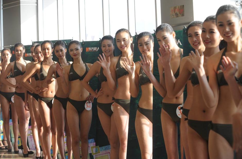 山东艺考透视泳装