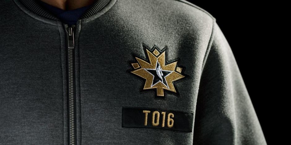 adidas发布2016年多伦多全明星球衣