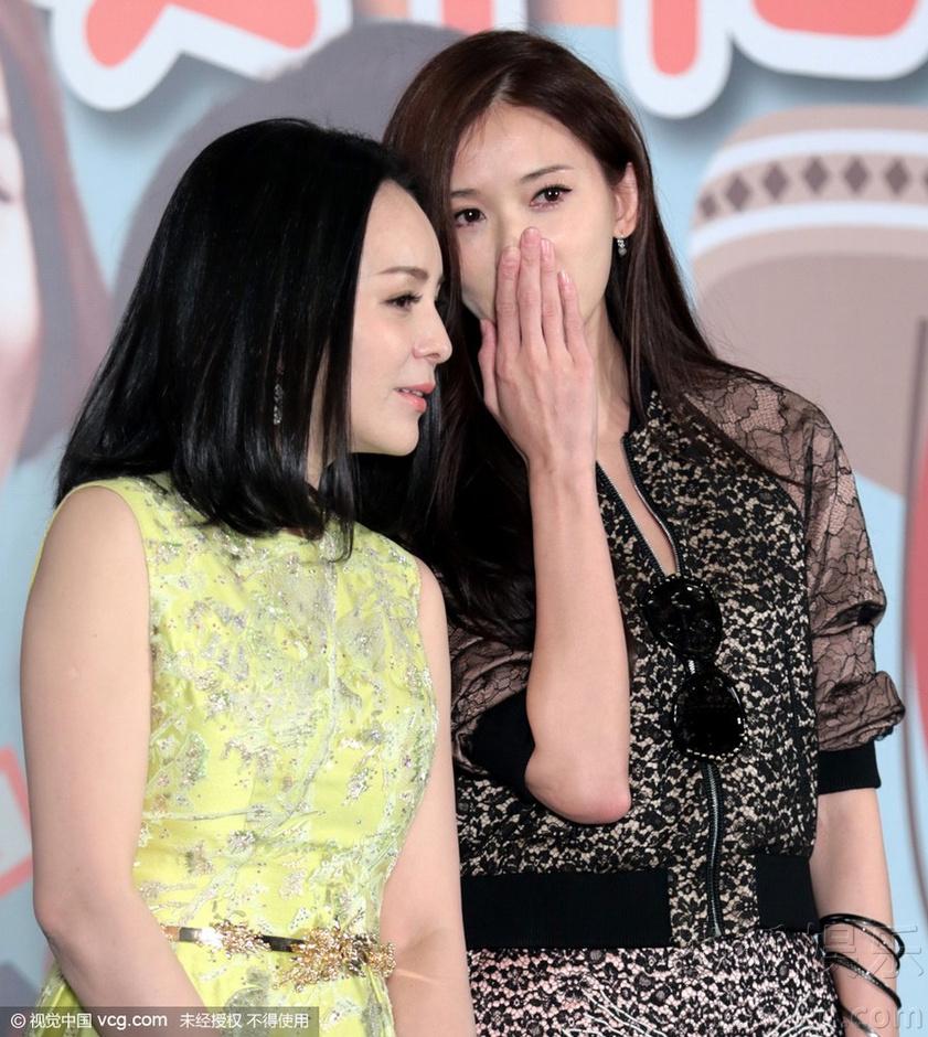 林志玲賣萌搞怪不斷 與雪姨王琳熱聊關係好(組圖)