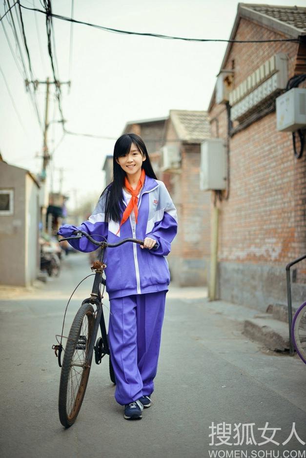 穿校服的萌妹子头像; 日本清纯校花生活照;