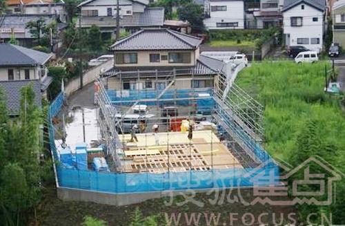 实拍日本牛人自建别墅不求人