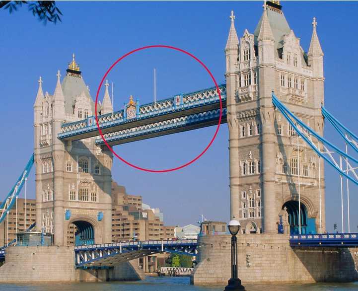 伦敦塔桥上透明走廊 40米高空俯瞰泰晤士河