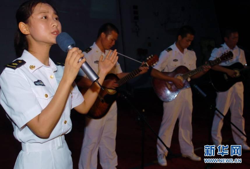 揭秘中国护航女兵的真实生活,美女真多(组图)