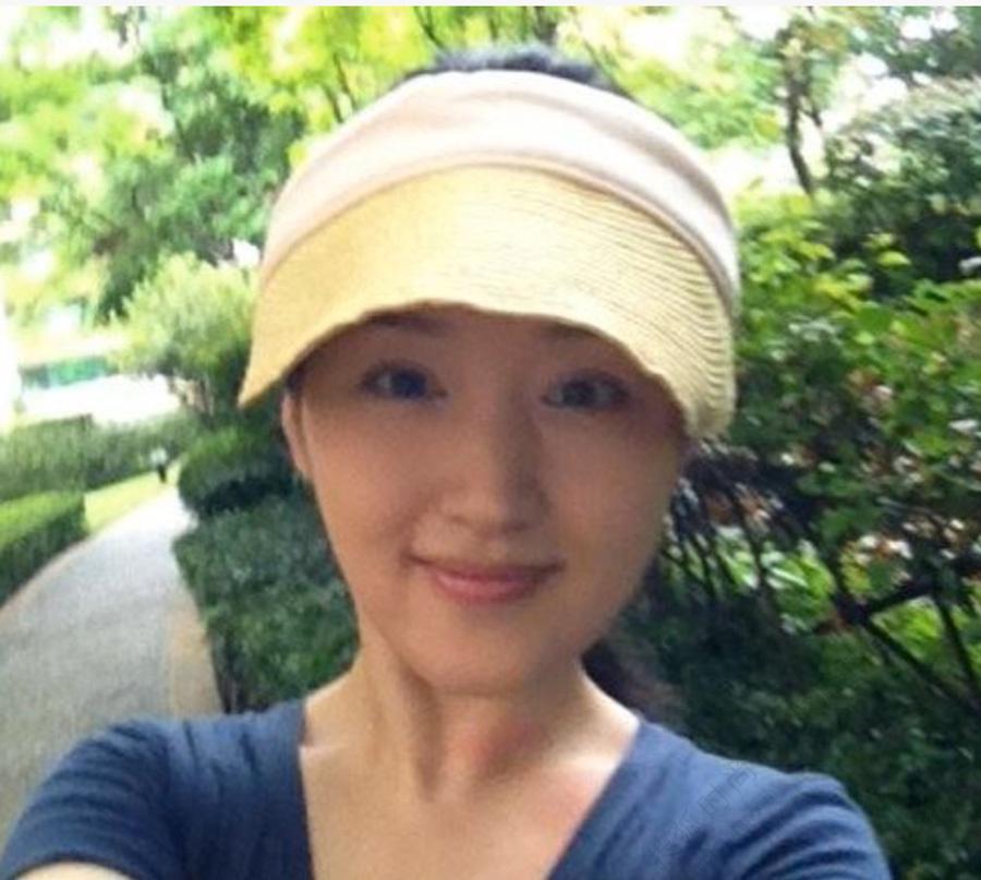 42岁杨钰莹素颜自拍照嫩过90后