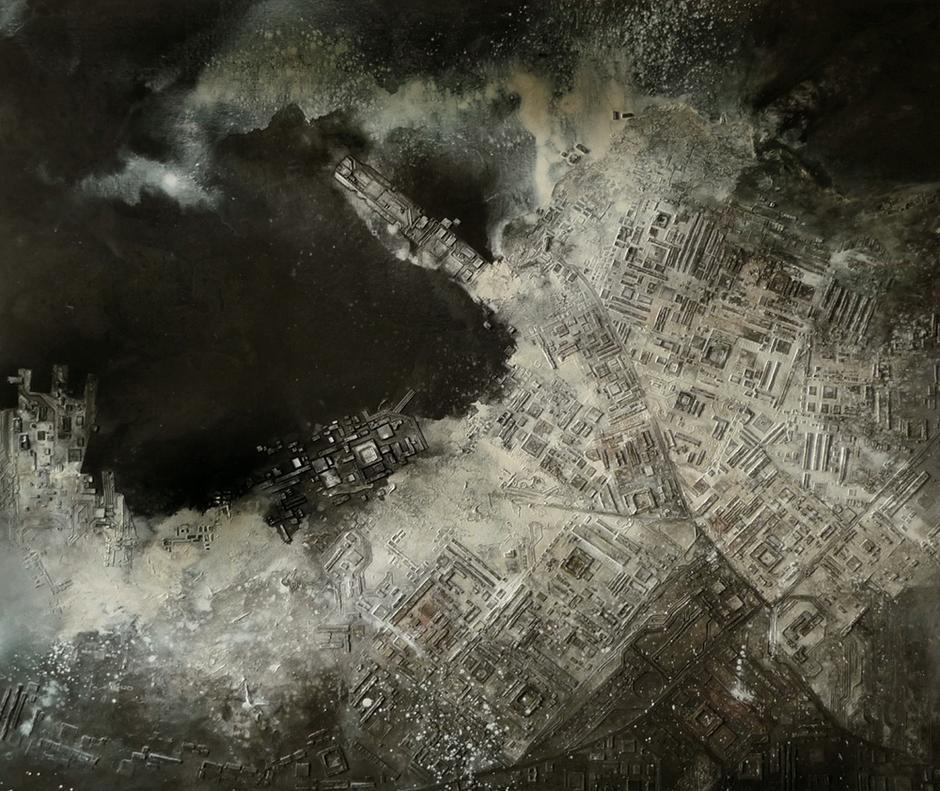 """""""穷尽""""德国新表现主义展:中国艺术家"""
