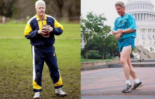 """健身政要多为跑步狂人 曾令克林顿""""重生""""(图)"""