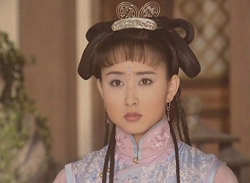 胡静演的孝庄太皇太后手下的丫鬟苏茉儿图片