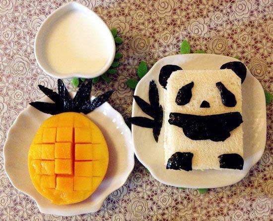 中国风爱心创意早餐 把巧手妈妈的爱吃进早餐里