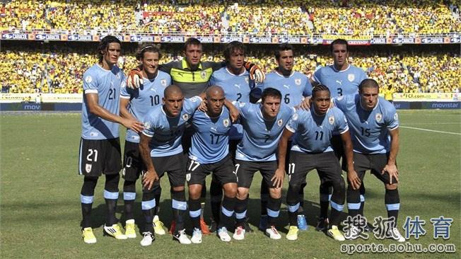 巴西世界杯乌拉圭队