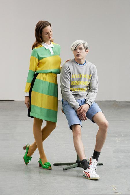 2014伦敦男装周PeterJensen新品发布