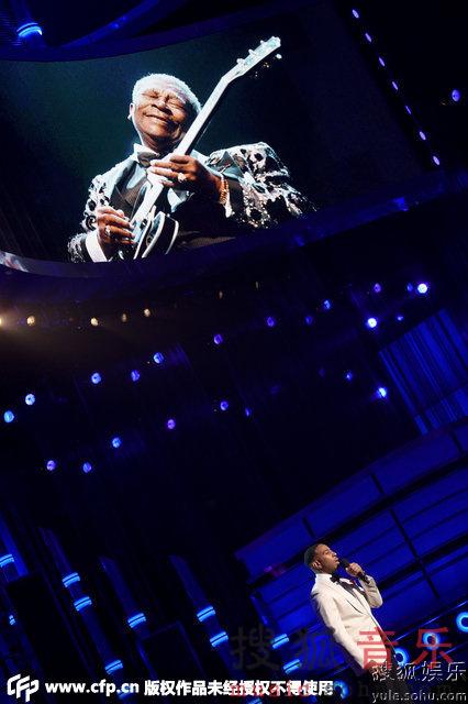 2015美国公告牌现场 众星致敬传奇b.b.king