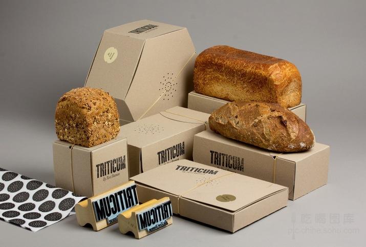 创意包装设计:可以闻到香味的面包盒图片