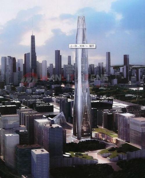 中国十大在建摩天大楼 高楼背后埋隐忧5298639