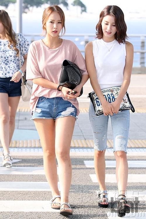 韩国女子组合tahiti