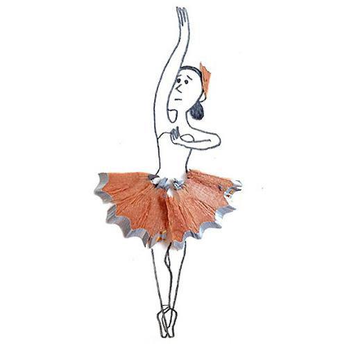 跳芭蕾的犹豫女孩.