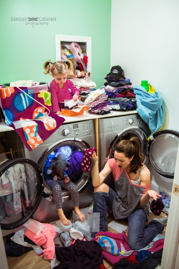 摄影师母亲记录最真实家庭生活照