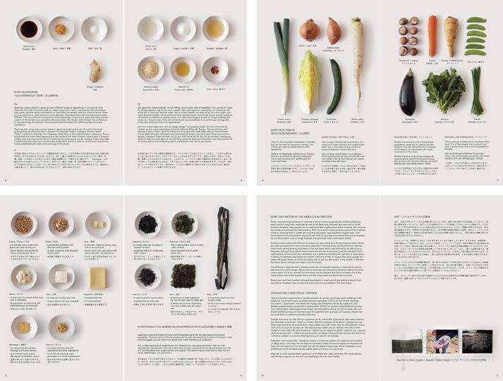 书中垂直俯瞰的摄影,和清新雅致的版式设计,让这本食谱散发出不一样的图片