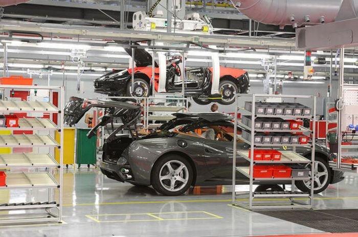 走进超级跑车法拉利工厂