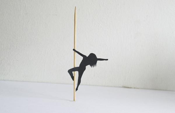 简单可爱舞蹈画