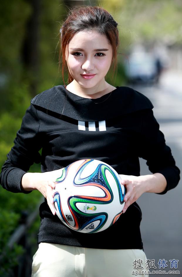 星运动:中国足坛美女老总艾如 年轻但不惧质疑